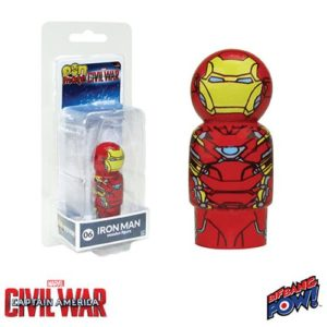 Captain America: Civil War Iron Man Pin Mates Wooden Collectible