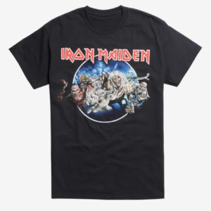 Iron Maiden Legacy Of Eddie The Head T-Shirt
