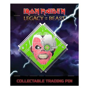 Iron Maiden Legacy of the Beast Cyborg Eddie Lapel Pin