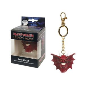 Iron Maiden Legacy of the Beast The Beast Head Key Chain