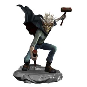Iron Maiden Legacy of the Beast Vampire Hunter Eddie Vinyl Figure