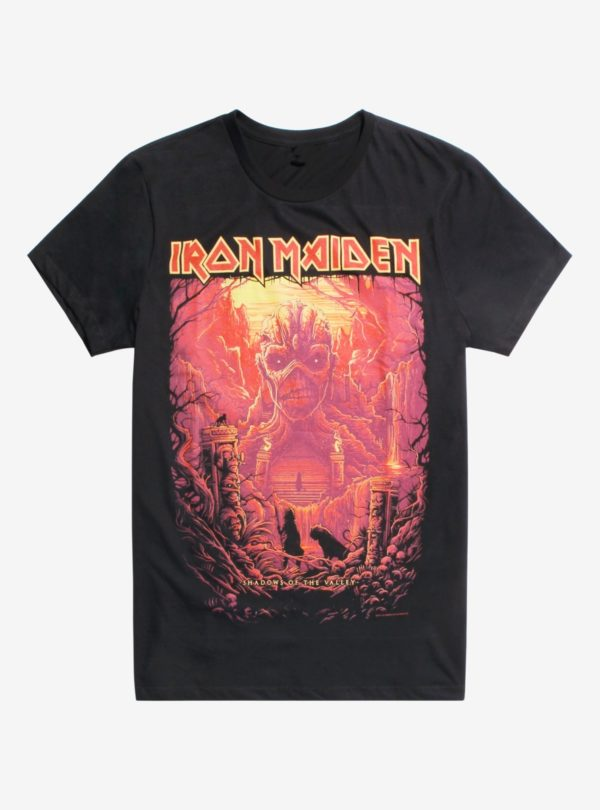 Iron Maiden Shadows Of The Valley T-Shirt