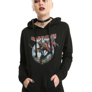 Iron Maiden The Trooper Girls Hoodie