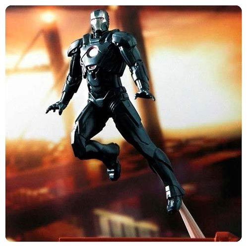 Iron Man 3 Mark 16 Black Stealth Nightclub Suit Mini-Figure