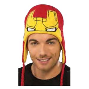 Iron Man Fleece Laplander Hat