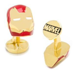 Iron Man Helmet 3D Cufflinks