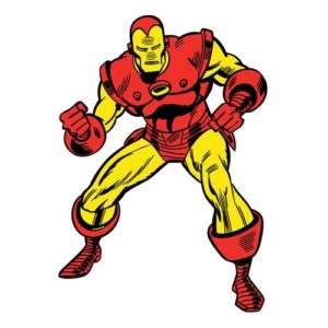 Iron Man Marvel Classics Peel and Stick Giant Wall Decal