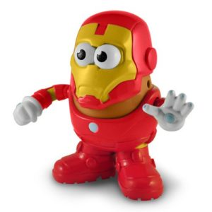 Iron Man Marvel Comics Poptaters Mr. Potato Head