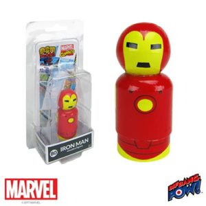 Iron Man Pin Mate Wooden Figure