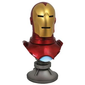 Legends in 3D Comic Marvel Iron Man 1:2 Scale Resin Bust
