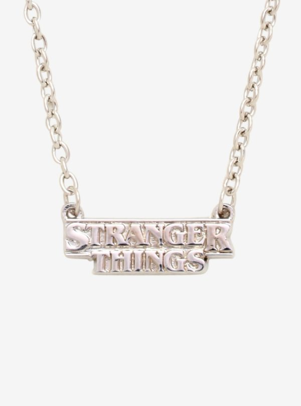 Loungefly Stranger Things Logo Necklace