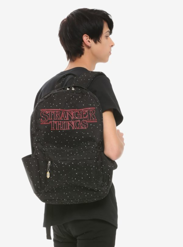 Loungefly Stranger Things Logo Speckled Backpack