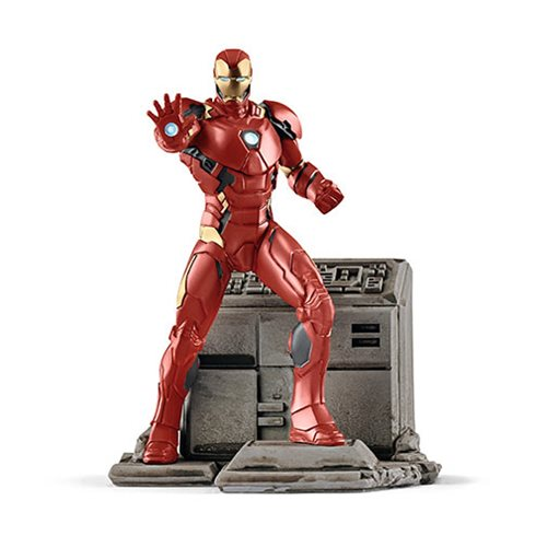 Marvel Classic Iron Man Diorama Collectible Figure #08