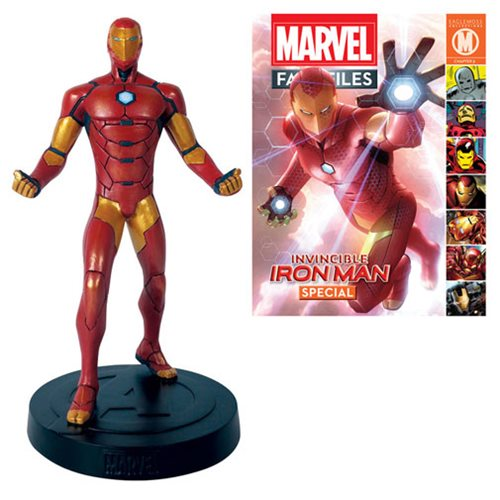 Marvel Fact Files Special #16 Iron Man Statue with Collector Magazine
