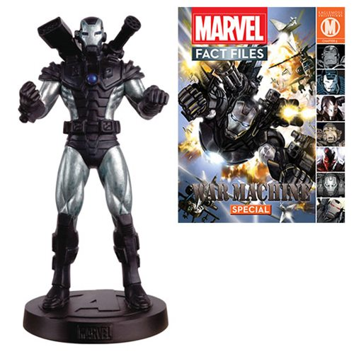 Marvel Fact Files Special #24 War Machine Statue with Collector Magazine