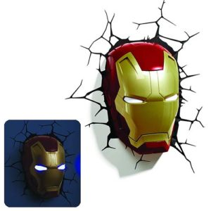 Marvel Iron Man Mask 3D Nightlight