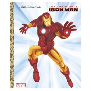 Marvel Iron Man The Invincible Iron Man Little Golden Book