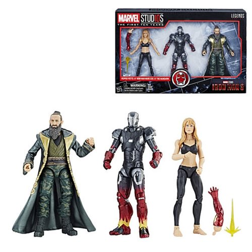 Marvel Legends Cinematic Universe 10th Anniversary Iron Man 3 Pepper Potts