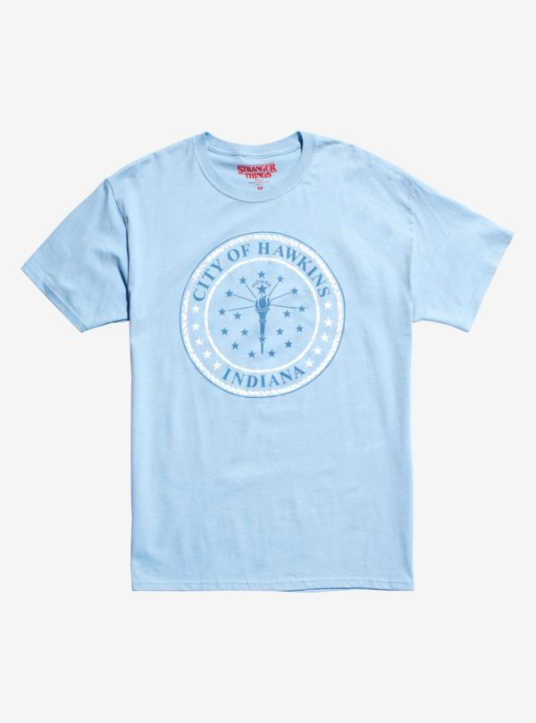 Stranger Things City Of Hawkins T-Shirt
