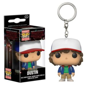 Stranger Things Dustin Pocket Pop! Key Chain