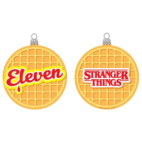 Stranger Things Eleven Waffle Blow Mold Ornament