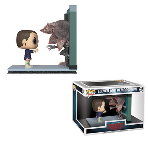 Stranger Things Eleven and Demogorgon Pop! Vinyl Figure Movie Moments