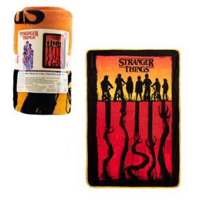 Stranger Things Fleece Throw