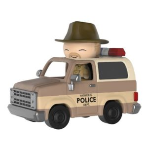 Stranger Things Hopper with Sheriff Deputy Truck Dorbz Ridez Figure