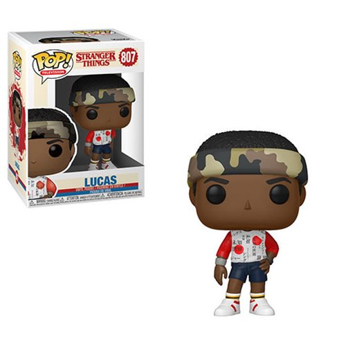 Stranger Things Lucas Season 3 Pop! Vinyl Figure
