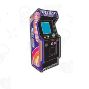Stranger Things Palace Arcade Video Game Enamel Pin