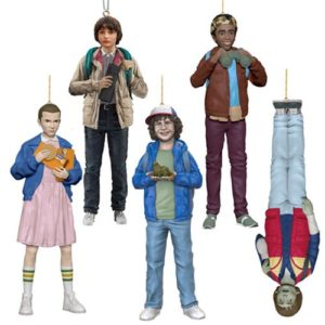 Stranger Things Resin Figural Ornament 5-Pack