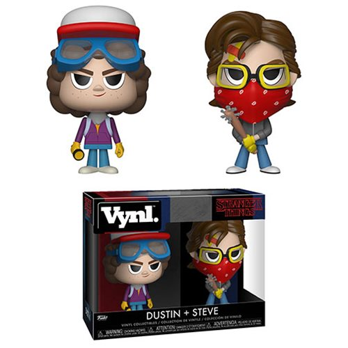 Stranger Things Steve and Dustin Vynl. Figure 2-Pack