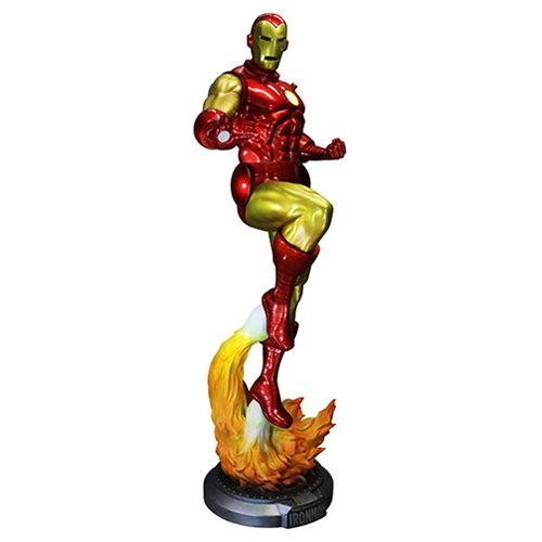 The Invincible Iron Man Light-Up Life-Size Statue
