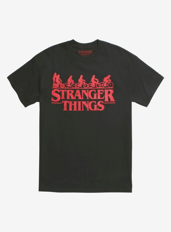 Stranger Things Bike Squad T-Shirt