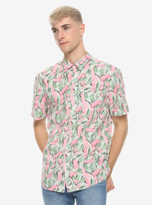 Stranger Things Hopper Woven Button-Up