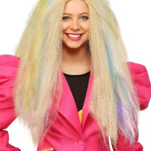 80s Crimped Women's Wig