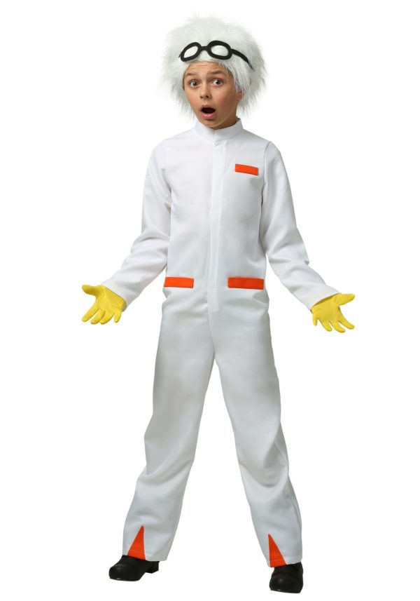 Back to the Future Doc Brown Costume for Kids