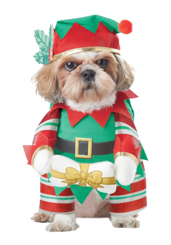 Elf Pup Dog Fancy Dress Costume