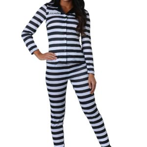 Incarcerated Cutie Fancy Dress Costume for Women