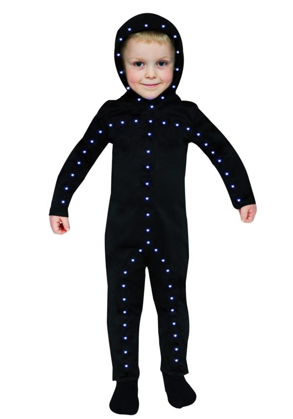 Lighted Toddler Stick Man Costume