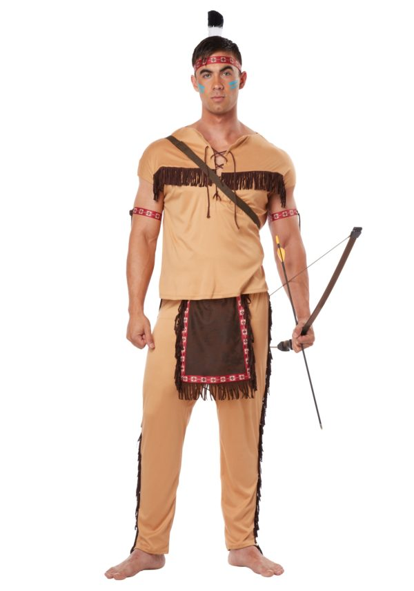 Native American Brave Costume for Adults