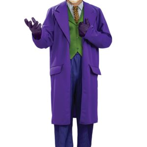 Plus Size Deluxe Joker Fancy Dress Costume