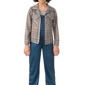 Stranger Things Eleven Plaid Child Shirt