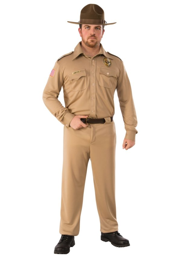 Stranger Things Jim Hopper Adult Fancy Dress Costume