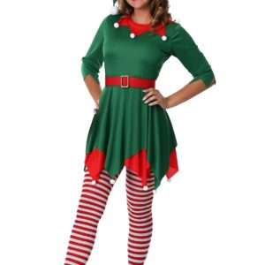 Women's Santa's Helper Fancy Dress Costume