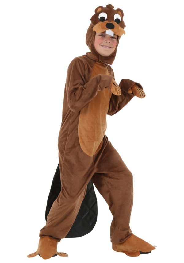 Child Busy Beaver Costume