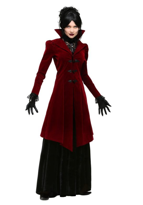 Delightfully Dreadful Vampiress Costume for Women