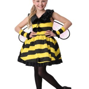 Deluxe Bumble Bee Girl's Costume