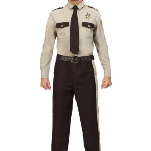 Men's Sheriff Plus Size Costume