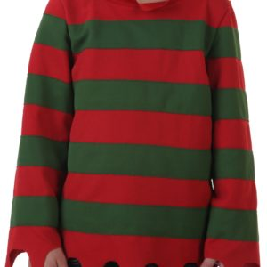 Nightmare on Elm Street Kids Sweater Costume